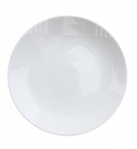 White Noise 10' Dinner Plate Ink Dish Store