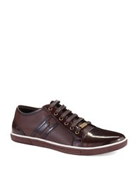Kenneth Cole Down N Up Sneakers Brown