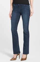 It Collective 'Marty' Stretch Slim Bootcut Jeans Deep Sea