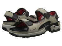 Allrounder By Mephisto Adiago Grey Oiled Nubuck Men's Sandals Gray