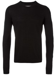Maison Martin Margiela Elbow Patch Jumper Black