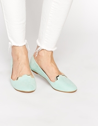 Asos Libbie Slipper Ballets Mint