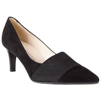 Peter Kaiser Beka Pointed Court Shoes Black