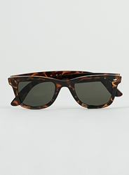 Topman Tortoise Shell Sunglasses Brown