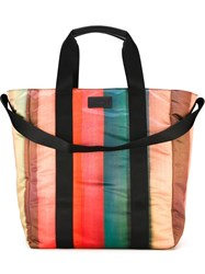 Paul Smith Striped Tote Multicolour