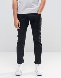 Wrangler Bryson Skinny Jean In Perfect Black Perfect Black