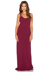 Blue Life Boho Babe Maxi Dress Burgundy