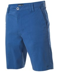 O'neill Men's Contact Stretch Shorts Blue