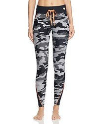 Trina Turk Recreation Congo Camo Leggings Black