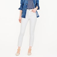 J.Crew Petite Lookout High Rise Crop Jean In White