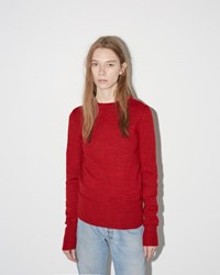 Etoile Isabel Marant Ellis Perfect Winter Knit Red