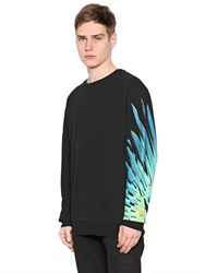 Marcelo Burlon Lonquimay Printed Cotton Sweatshirt