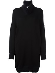 Comme Des Garcons Junya Watanabe Turtle Neck Long Sweater Black