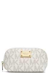 Michael Michael Kors 'Jet Set' Travel Case Vanilla