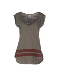 People Topwear Tops Women Military Green