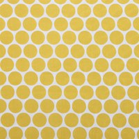 Pip Studio Big Dot Fitted Sheet Yellow Double