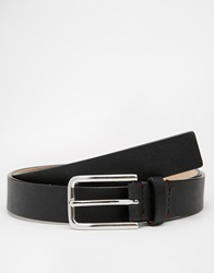 Jack Wills Bulward Leather Belt Black