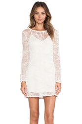 Ladakh Cornelli Lace Dress Ivory