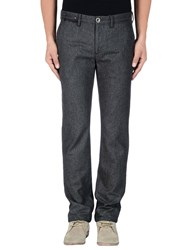 Incotex Red Trousers Casual Trousers Men Steel Grey