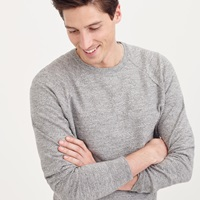 J.Crew Textured Cotton Sweater In Solid