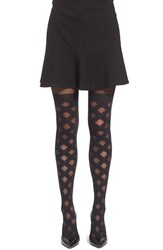 Women's Pretty Polly Crisscross Faux Over The Knee Tights