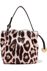 Tom Ford Leopard Print Goat Hair Tote Leopard Print