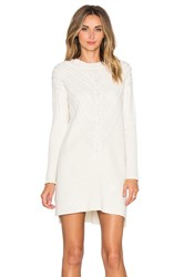 Milly Engineered Cable Tunic Ivory