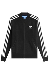 Adidas Originals Zipped Wool Jacket Black