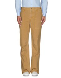 Jaggy Trousers Casual Trousers Men Sand