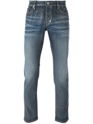 Just Cavalli Straight Leg Jeans Blue