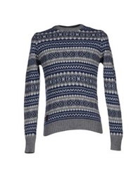 Marville Sweaters Slate Blue