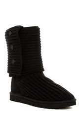 Ugg Classic Cardy Genuine Sheepskin Lined Boot Black