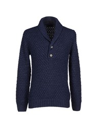 Hamaki Ho Knitwear Jumpers Men Blue