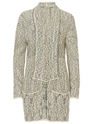 Betty And Co. Long Wrap Cardigan Reed Nature