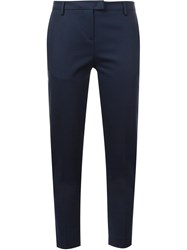 Moncler Slim Tailored Trousers Blue