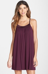 Midnight By Carole Hochman 'Looking For Love' Chemise Plum