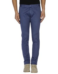Officina 36 Trousers Casual Trousers Men Blue