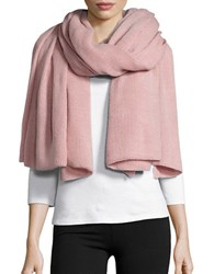 Collection 18 Ribbed Knit Wrap Dusty Pink
