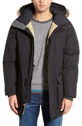Men's Woolrich 'Patrol' Hooded Down Parka With Genuine Coyote Fur Trim