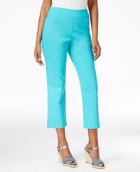 Jm Collection Pull On Cropped Pants Only At Macy's Urban Aqua