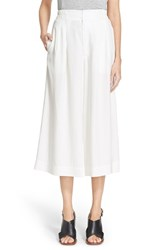 Women's Apiece Apart 'Taiyana Wabi' Wide Leg Crop Pants Cream