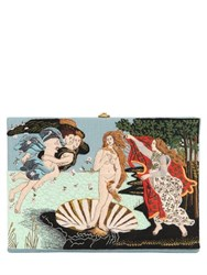 Olympia Le Tan Botticelli Embroidered Book Clutch