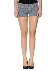 We Are Replay Denim Shorts Grey