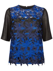 Fenn Wright Manson Petite Planet Top Black Blue