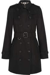 Burberry The Sandringham Cotton Gabardine Trench Coat