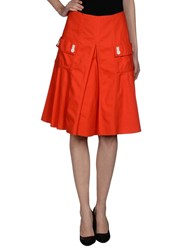 Sonia By Sonia Rykiel Skirts Knee Length Skirts Women Red