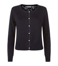 Claudie Pierlot Maxypunky Lace Cardigan Female Black