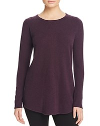 Bloomingdale's C By Cashmere Sweater Plum