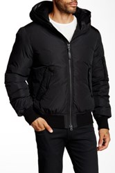 Mackage Arto Genuine Leather Down Jacket Black
