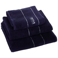Hugo Boss Towel Navy Hand Towel
